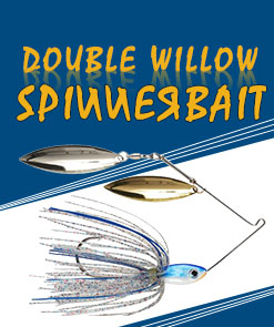 Double Willow Spinnerbait   Buckeye Lures